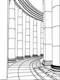 Column architecture. Vector