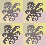 abstract orchid pattern