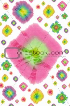 batik circles pattern