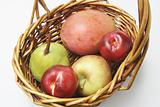 Fresh Fruits in Basket