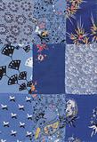 blue quilt pattern