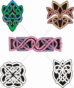 Knot Decoration Dingbats & Patterns