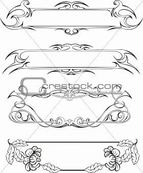 Slim decoration panels