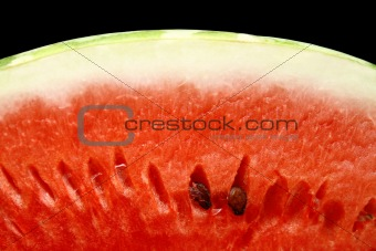 watermelon close up