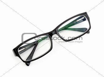 Pair of black glasses