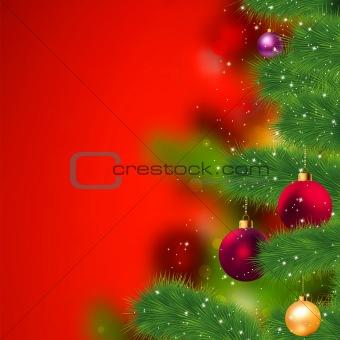 Grunge christmas background. EPS 8