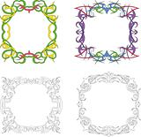 Square decoration frames