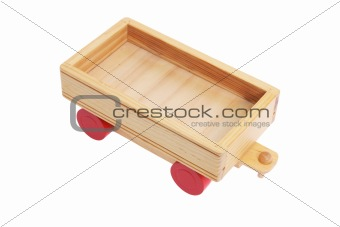 Wooden Toy Cart