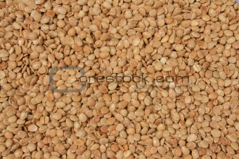 Background of almonds