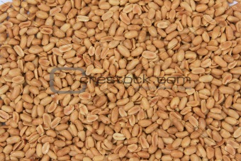 Background of pine nuts