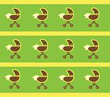 Neutral Baby Stroller Background