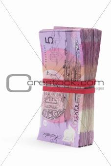 Bundle of Dollar Notes