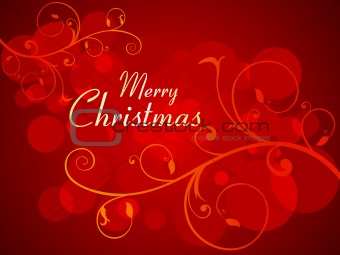 abstract colorful glossy christmas background