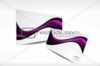 BUSINESS CARD IN WEB STYLE