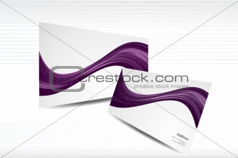 BUSINESS CARD ROYAL COLOR