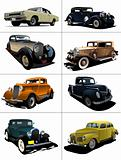 Eight  rarity cars