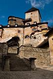 Castle Oravsky Podzamok in Slovakia