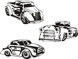 Hot Rod Designs with Flames