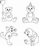 Teddy Bear Sketches