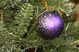 balls on the Christmas tree