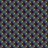 Seamless stylish multicolor pattern.