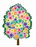 Flower tree
