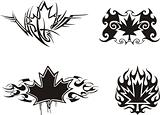 Maple Leaf Flames