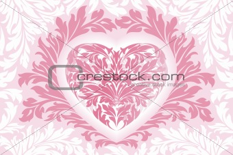 Abstract Floral Valentine