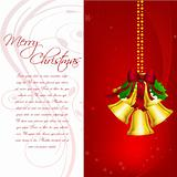 cheerful merry christmas card