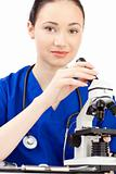 woman doctor in uniform