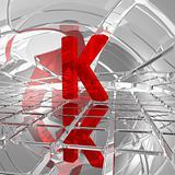 k in futuristic space