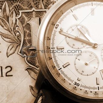 financial time concept