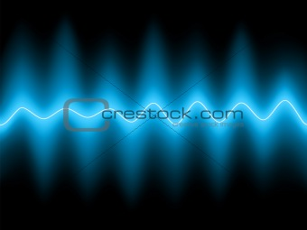 Abstract blue background. EPS 8