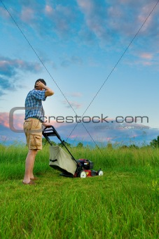 Mowing Job
