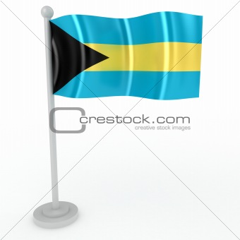 Flag of Bagemsky island