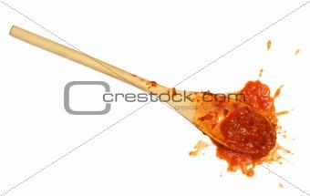 Tomato sauce spoon