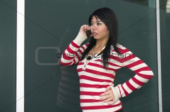 Cell phone call