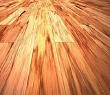 mahogany floor