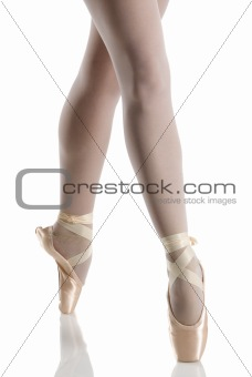 in pointe