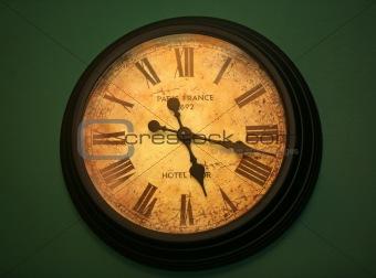 Ancient hours still go