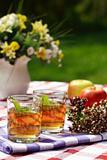 Herbal tea - outdoor dining