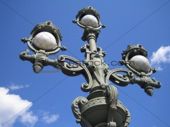 sky. lamp. St.-Petersburg