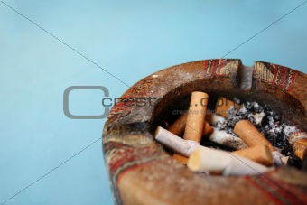 Cigarette & Ashtray