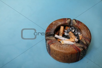 Cigarette & Ashtray