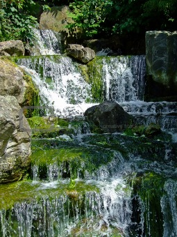 Waterfalls closeup