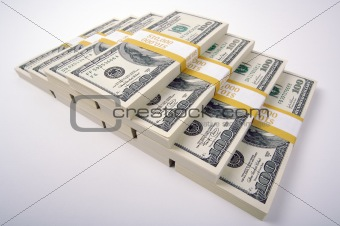 Stack of Hundred Dollar Bills