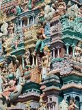 Detail of Hindu temple