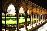 Mont Saint Michel Cloister