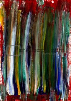 Painted Canvas Texture Elements