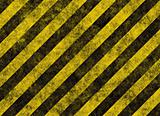 hazard stripes